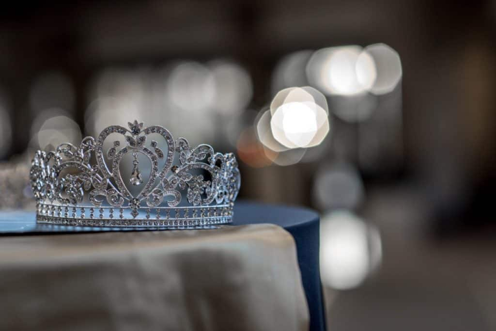 A tiara, as a symbol for Esther, the woman and the book of the Bible