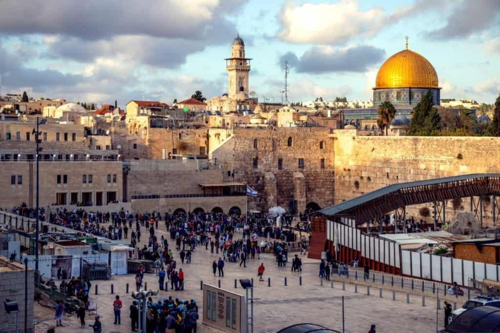 The Western Wall, the most well-known symbol for Jerusalem - which is the focal point of the Bible, especially the Old Testament