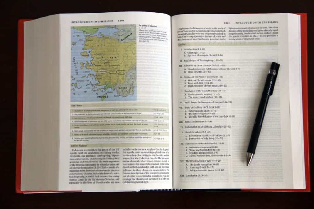 Best Study Bible for Beginners - ESV Study Bible