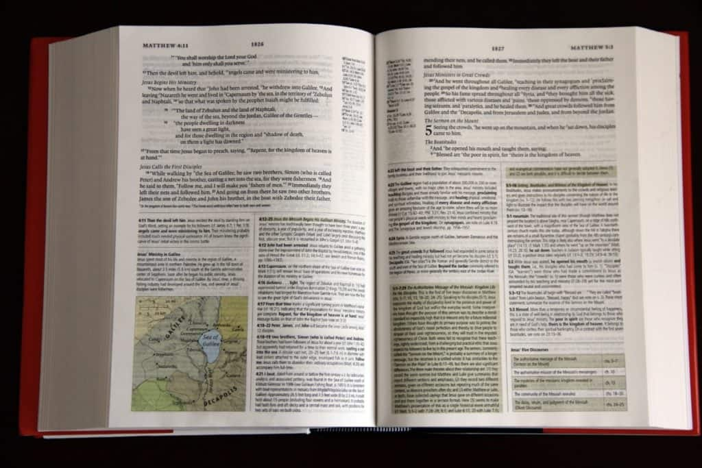 A Study Bible for Beginners Should Be Thorough